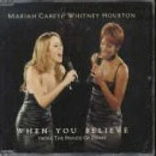 Mariah Carey When you believe (1998, & Whitney Houston) [Maxi-CD]