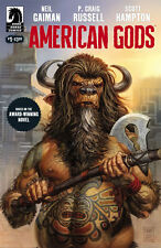 American Gods - Shadows #1 | Hot TV Show | Glenn Fabry Cover A | Dark Horse 2017