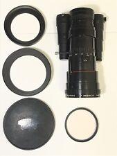 ANGENIEUX 6-80mm f/1.2 13.5x6 B C-Mount Cine Lens w/ Hood Beaulieu Super 8mm Cam