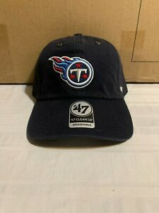 Tennessee Titans NFL '47 Brand Carhartt Mens Navy Clean Up Adjustable Hat