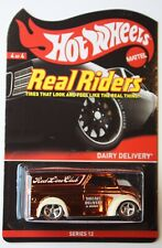 Hot Wheels RLC 2013 Real Riders Dairy Delivery Truck 2724/4500 MOC