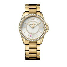 Juicy Couture Analog Business Watch Laguna Gold Women's 1901409