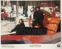 Rachel Weisz Keanu Reeves in the fire rescue boat Chain Reaction lobby card 1820