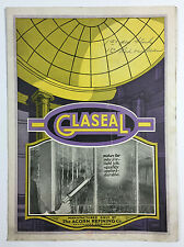 Vintage Advertising Brochure - Glaseal, The Acorn Refining Co., Cleveland Ohio