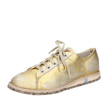 women's shoes MOMA 7 (EU 37) sneakers gold leather BT46-37