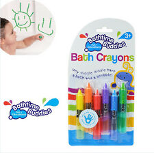 Bathtime Buddies Baby & Children Bath Crayon Safety Level Crayons Erasable