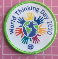 World Thinking Day 2020 Girlguiding UK Badge Brownies Sew On Camp Blanket Guides