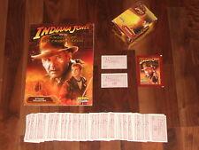 Indiana Jones & The Kingdom of the Crystal Skull empty 2008 Merlin Sticker Set &