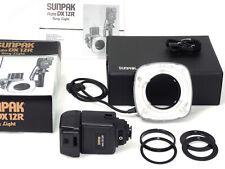NEW-NEU-NEUF. Flash annulaire Sunpak Auto DX 12R + adaptateur Nikon – Ring Flash
