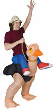 Morris Costumes Adult Ollie Ostrich Inflatables Costume One Size. SS24537G
