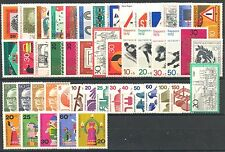 BUNDESPOST - 1971 complete year MNH