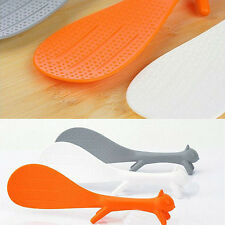 Lovely Kitchen Supplie Squirrel Shaped Ladle Non Stick Rice Paddle Meal Spoon
