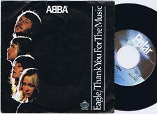 ABBA Eagle b/w Thank You For The Music swedish 45PS 1977 Polar Juke Box Centre