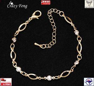 Fashion Crystal Friendship Bracelets Beautiful Elegant Cheap for Women [A2A~B30]