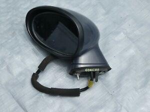 2007 MAZDA MX-5 MIATA Left Driver Side Mirror OEM code 32S Galaxy Gray Mica