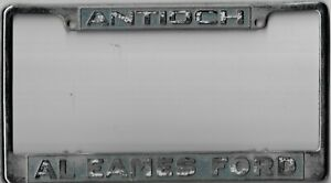 ENTOURAGE de plaque immatriculation Américaine FORD