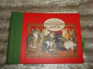 Lesley Anne Ivory Cats Beautiful Photograph Album NEW