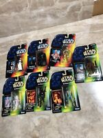 Kenner Star Wars Figures Lot 7 Power of the Force NEW R5-D4 Death Star Darth