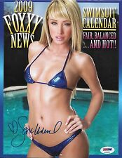 Sara Jean Underwood Signed 2009 Foxxy News Calendar PSA/DNA Playboy Autograph