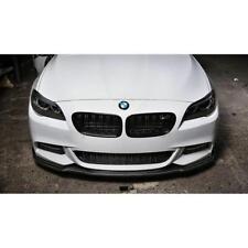P pour BMW F10 F11 Front M pare-chocs BECQUET CARBONE Cantonnière Chin Splitter Lip Jupe