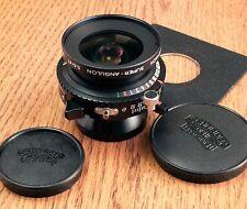 Schneider 47mm f5.6 Super-Angulon Lens, Copal 0 Shutter