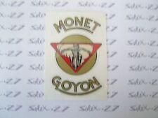 ***NOUVEAU*** 1  AUTOCOLLANT  MOTO MONET  GOYON  N°5