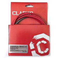 Clarks 8012 Stainless Steel Brake Red Cable Kit | MTB Hybrid Road Bike