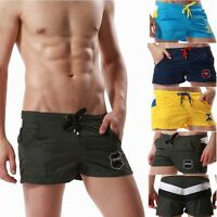 SEOBEAN Mens Sports very thin Casual Shorts running pants Lounge boxer shorts