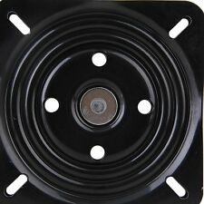 NEW8 inch A3 Steel Plate Black Ball Bearing Square Swivel Turntable Chair Swivel