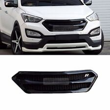 Front Bumper Black Radiator Grille Cover for HYUNDAI 2013-2015 Santa Fe DM