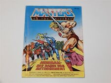 MOTU HE-MAN MASTERS OF THE UNIVERSE MINI COMIC 1984 HORDAK'S REVENGE - DE IT