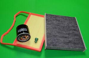 Filterset Filtersatz Inspektionspaket Skoda Fabia III 1.0 Benziner (44 & 55kW)