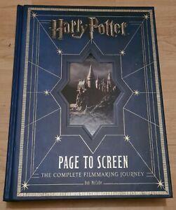 Harry Potter: Page to Screen by Bob McCabe (Hardback, 2011)