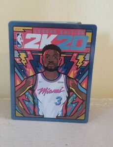 NBA 2K20 Legend Edition Limited Edition Steelbook Case Only  (NO GAME)
