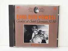Earl BUD POWELL Vol.3 Cookin' at St Germain '57-'59 MS 6003-2 RARE Italy Mythic