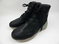 Under Armour Field Ops GTX Gore-Tex Black Leather Boots Men's sz 10.5