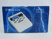 New in Box Midland WR-100 All Hazards Weather Public Alert Radio Storm Warning