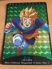 Carte Dragon Ball Z DBZ Hero Collection Part 3 #318 Prisme 1995 MADE IN JAPAN