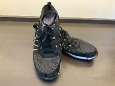 Nfinity Night Flyte Cheer Shoes Black Stunt Shoe Sz Adult 7.5 w/ Case