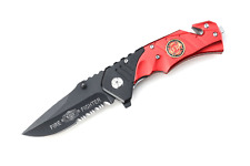 Snake Eye Tactical Rescue Style Action Assist Folding Knife 4.5""