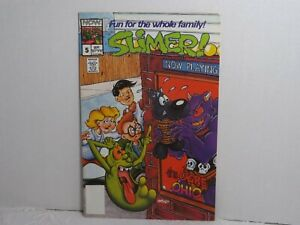 "Now Comic Book  ""Slimer #5""     (1989)"