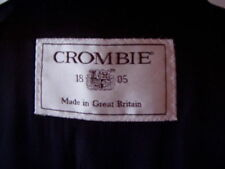 Crombie Wool Long Coats & Jackets Overcoat for Men