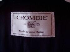 Crombie Button Long Coats & Jackets Overcoat for Men
