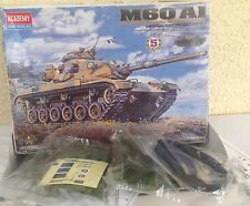 M60 Tank plastic Model kit A1 US Army Main Battle Academy 1/48 !FULL INVENTORY!