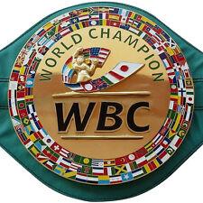 WBC Championship Boxing Belt 3D Adult Size Belts Brand New