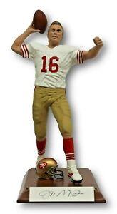 Joe Montana signed autographed Salvino Statue W/ Helmet SF 49ers 484 / 1000 RARE