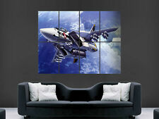 FIGHTER JET POSTER  PRINT WALL ART  IMAGE PICTURE LARGE GIANT