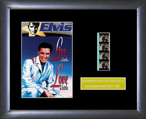 Elvis Presley Film Cell memorabilia : Live A Little - Numbered Limited Edition