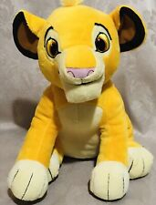 "Kohls Cares Disney Simba Plush Lion King Stuffed Animal 12"" Htf"