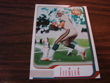 2002 Fleer Focus Jersey Numbers Jay Fiedler 9/9 (B9) Miami Dolphins